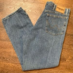 Wrangler Relaxed Fit Denim Jeans